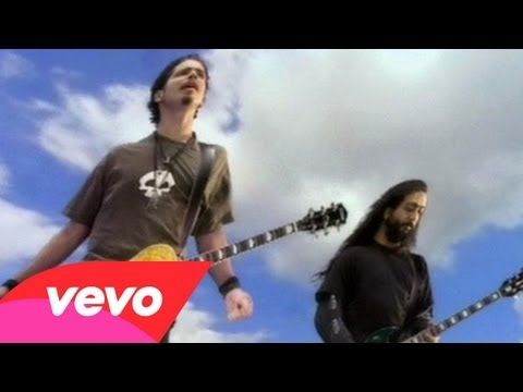 Soundgarden - Black Hole Sun. This video is literally a hallucinogenic trip. Superlative production.