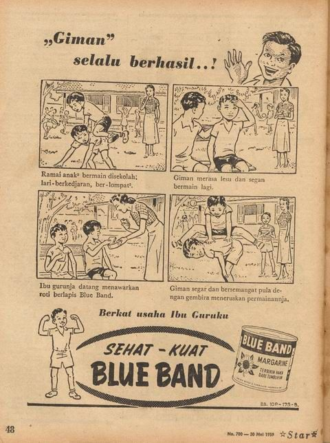 "Blue Band ""Giman"""