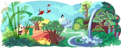 Google Doodle: Earth Day 2011