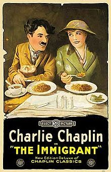 MOVIE: The Immigrant (1917). D: Charles Chaplin, Edward Brewer. Selected in 1998.