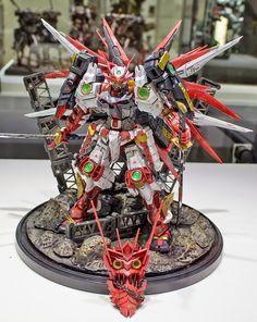 GUNPLA BUILDERS WORLD CUP 2014 (GBWC): CHAMPION & FINALIST ENTTRIES - On Display @ Gundam Front Tokyo [Part 4]