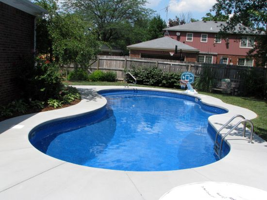 Pin by nancy haars on backyard backyard pool designs - Swimming pools for small backyards ...