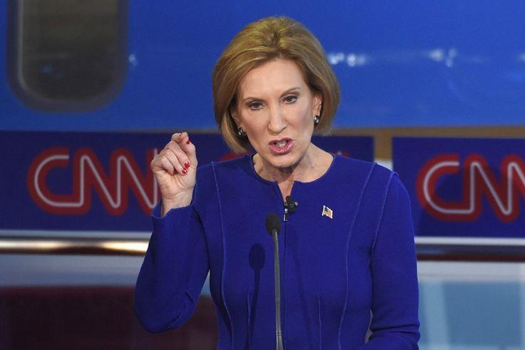 The Second Debate: Carly #Fiorina vs. Donald Trump vs. Jeb Bush - The Atlantic
