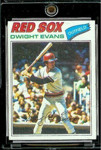 1977 Topps # 25 Dwight Evans Boston Red Sox Baseball Card by Topps. $2.88. 1977 Topps # 25 Dwight Evans Boston Red Sox Baseball Card