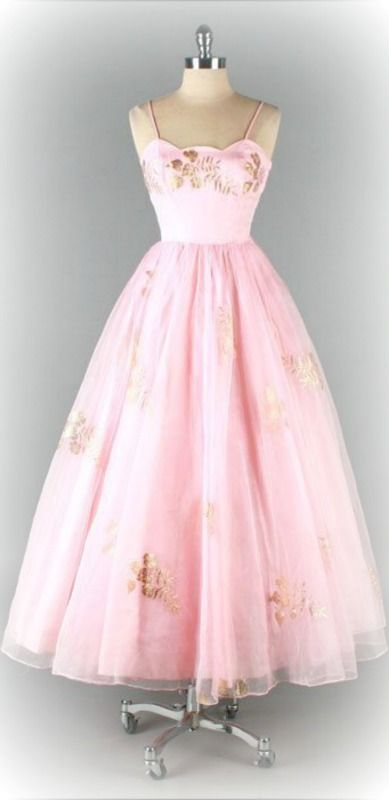 1950 prom dress ~Debbie Orcutt ❤