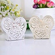 Laer Cut Hearts Favor Box (Set of 12) – USD $ 5.99