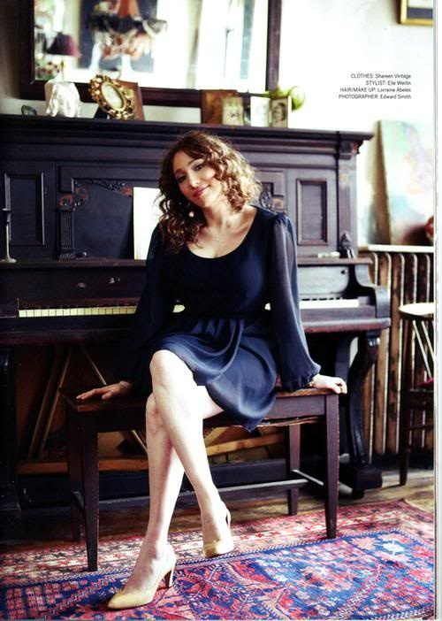 Regina Spektor.  One of my favorite artists and best female musicians.  I would love to play the piano with her!