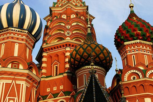 St. Basil Cathedral, Moscu.