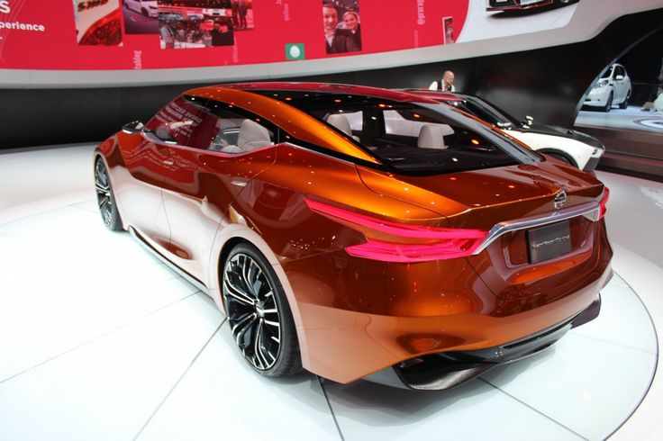 Nissan Sport Sedan Concept Debuts At Detroit, Previews 2015 Maxima: Live Photos & Video