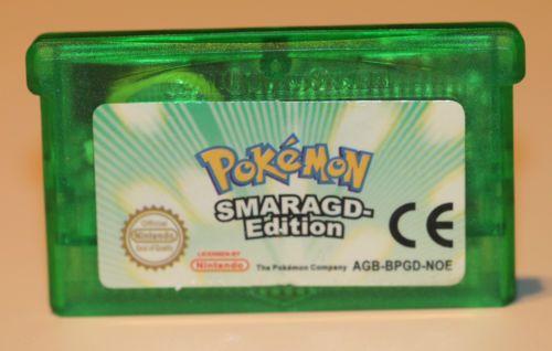 Pokémon: Smaragd-Edition für Gameboy Advance