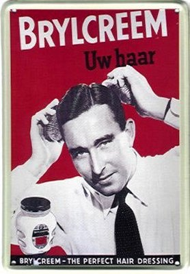 """......""""a little dab'll do ya.....brylcreem, you look so debonaire...brylcreem, the gals will pursue ya, simply rub a little in your hair""""..........1930s & 40s"""