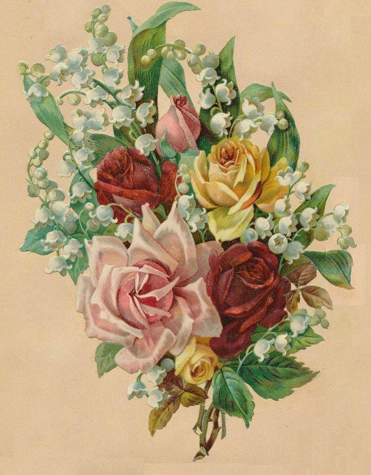 Картинки, рисованные картинки с цветами и надписями