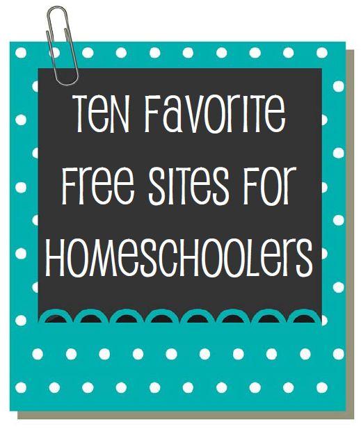 Ten Favorite FREE Websites | Walking by the Way