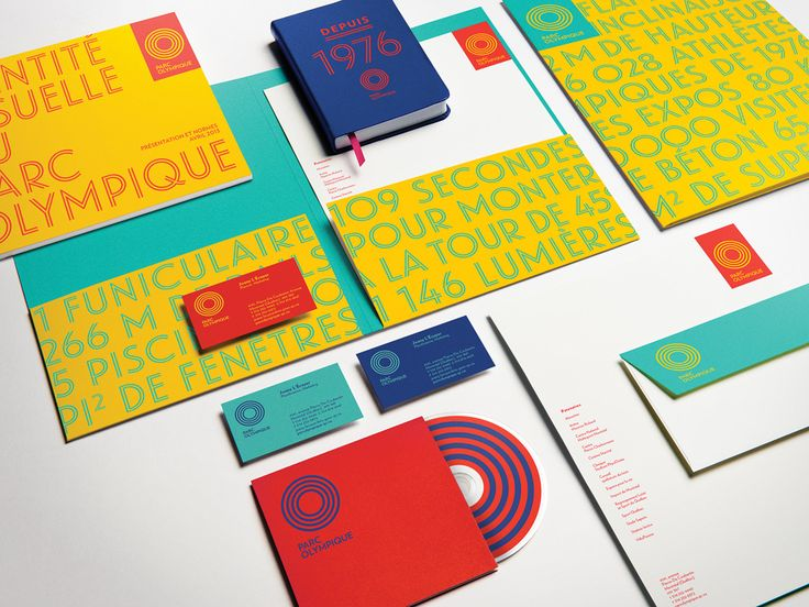 New Logo and Identity for Parc Olympique by lg2boutique