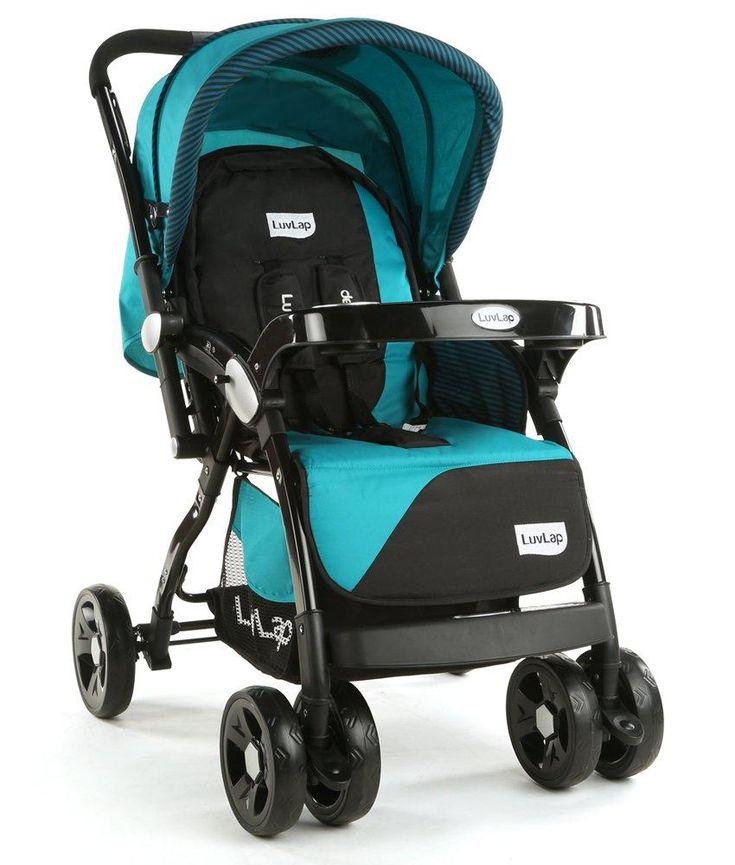14++ Luvlap grand baby stroller folding information