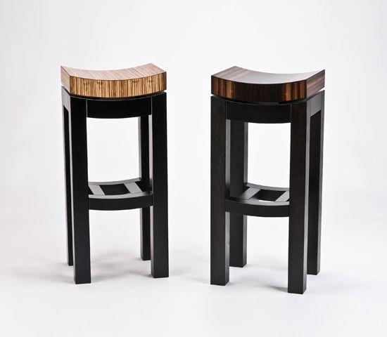Kurve Stool By Enrico Konig (Wood Stool