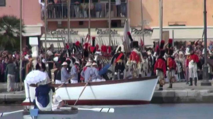 4 Maggio l'arrivo (video n° 4 )-1814 --2014- 200° aniversario sbarco di ...