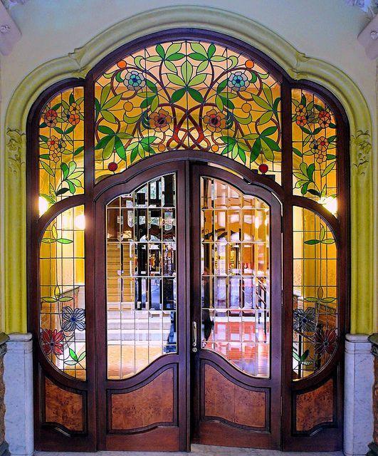 Красивые и необычные двери в стиле модерн - Ярмарка Мастеров - ручная работа, handmade