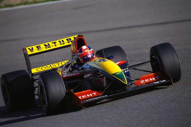 Ukyo Katayama, Spa-Francorchamps 1992, Venturi LC92