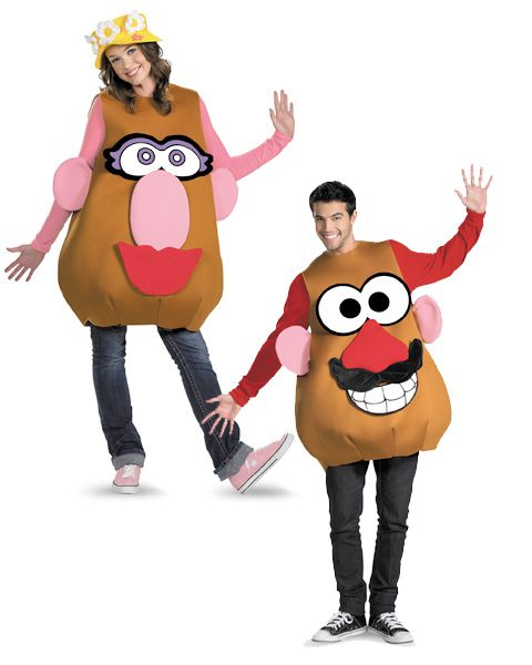 couples halloween costumes  | For funny couples nothing is better than Mr. and Mrs. Potato Head! The ...