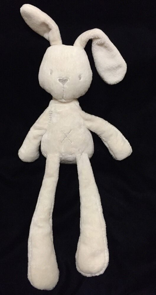 Mamas Papas Millie Bunny Soft Toy Plush Comforter Floppy