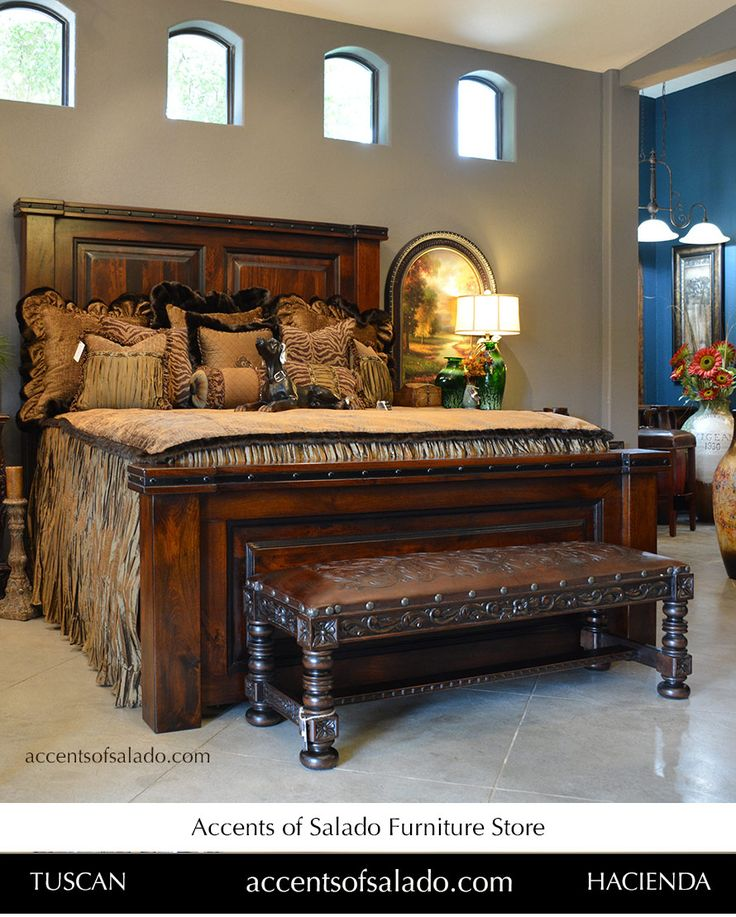 Lovely Old World Long Leather Bench And Bed At ACCENTS OF SALADO FURNITURE STORE.  Accentsofsalado.
