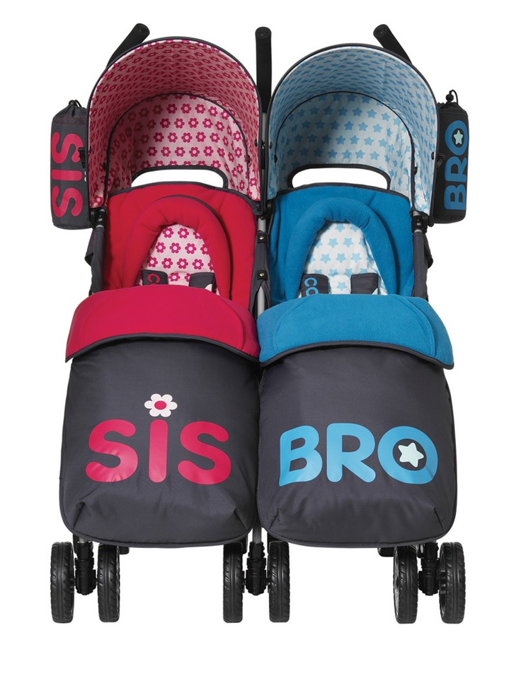 You2 Twin Pushchair From Cosatto How Perfect