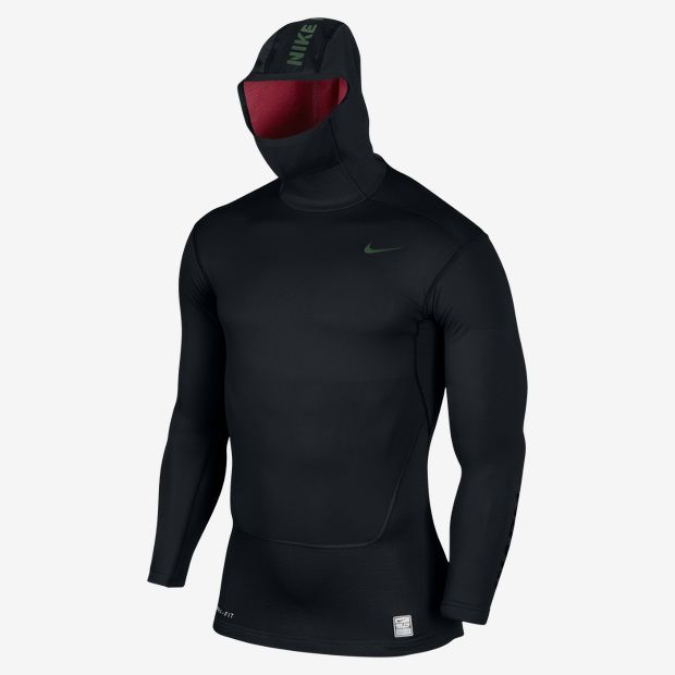 Nike Pro Combat Hyperwarm Dri-FIT Max Shield+ Herren Hoodie