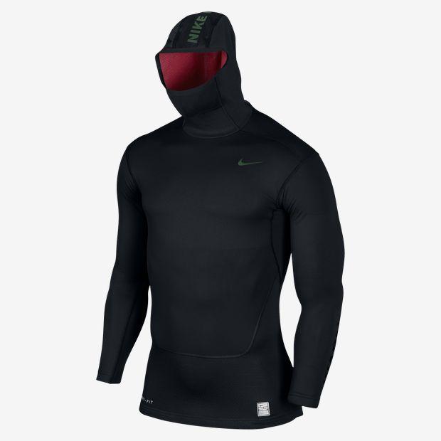 Nike Pro Combat Hyperwarm Dri-FIT Max Shield+ Herren Hoodie