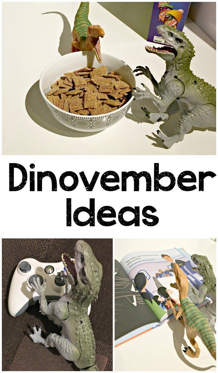 List of 20 Easy Dinovember Ideas