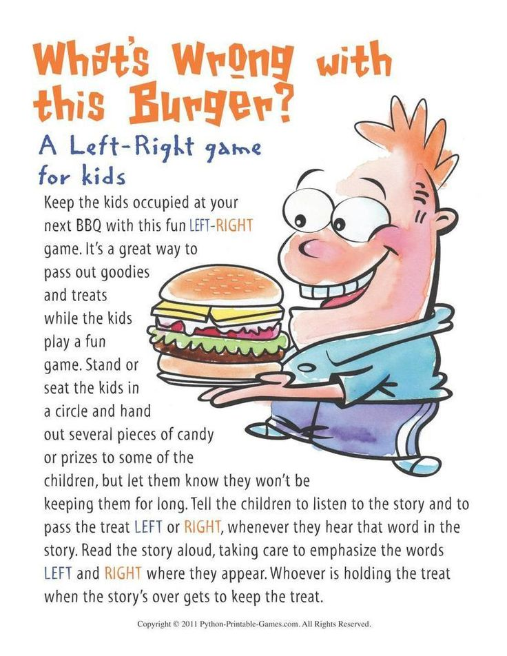 Fun Printable BBQ Games With Trivia And Scavenger Hunt Related To