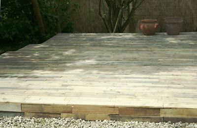 pavimenti in legno di pallet
