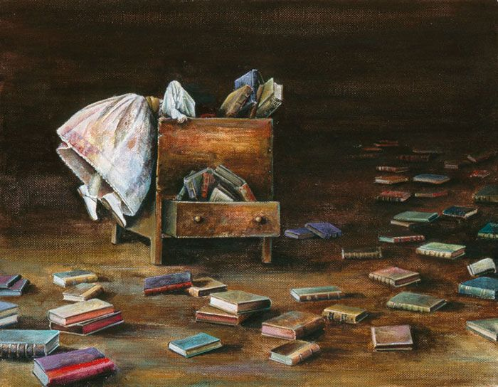 *artist unknown...just had to pin this...  now where is that book?