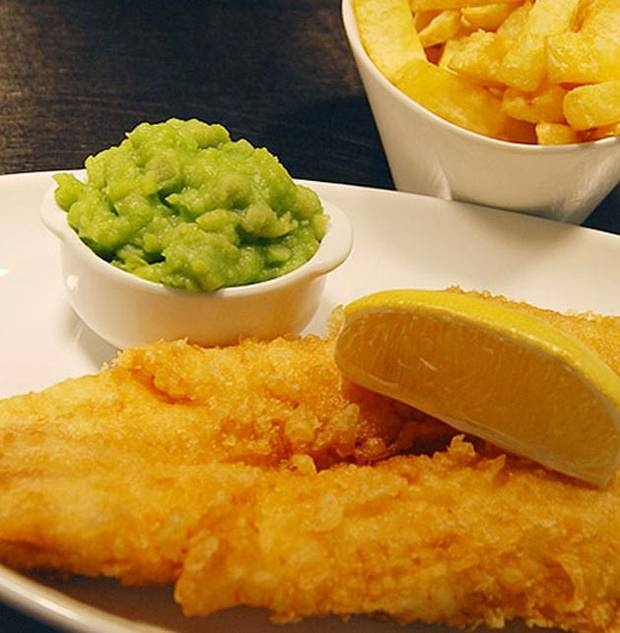 Fish & Chips - The Tailend Restaurant & Fishbar has fast become an institution in Edinburgh