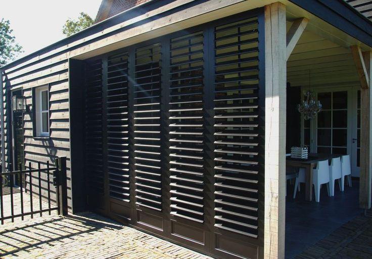 Veranda shutters - vaste en verstelbare lamellen | Isoluik