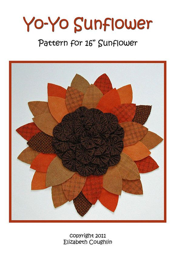 1000 images about yo yo 39 s and other fabric flowers on for Yo yo patterns crafts