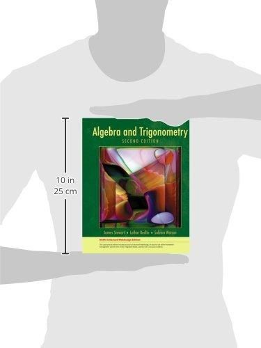 Algebra and Trigonometry, Enhanced Edition (Available 2010 Titles Enhanced Web Assign)