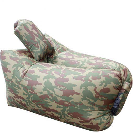Sofa auto-gonflant Hamac gonflable Camouflage