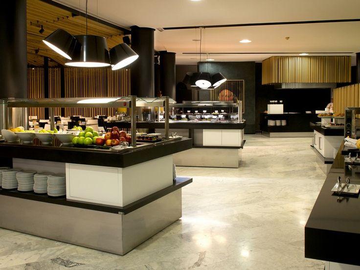 Restaurante buffet del hotel Barceló Sevilla Renacimiento