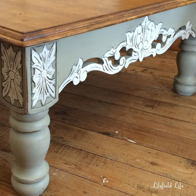 three different hand painted coffee tables - Lilyfield Life