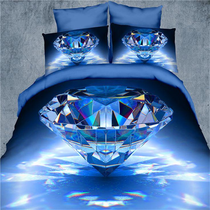 Bedding Set Painting 3D Vivid Duvet Cover Quality Queen size Cool Bed Set Multi Sizes 4pcs