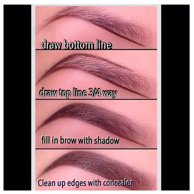 Do you know how to properly arch your eyebrows?