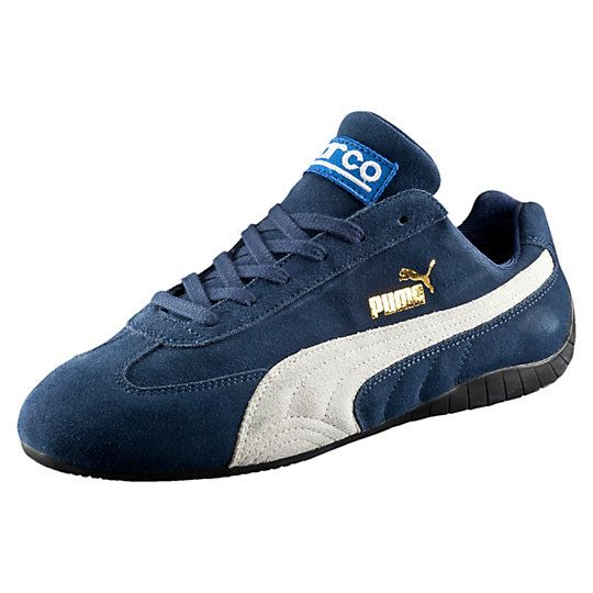 <p>In 2000, we caused a stir when we teamed up with well-known Italian motorsports brand Sparco and hit the scene with the Speed Cat Sparco. Streamlined, low-profile, and fashioned after performance boots worn by professional drivers, it was the first of its kind: a shoe with all the street cred of a true motorsports boot, but designed for everyday wearing. Now, fifteen years later, we're paying tribute to our history and bringing the iconic shoe back. Inspired by tight curves...