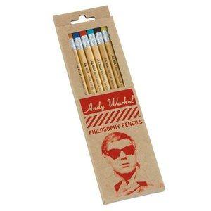 Warhol Philosophy Pencil Set