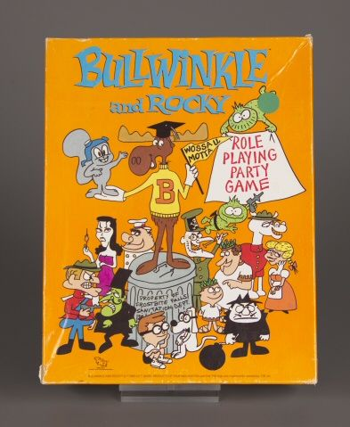 112.6467: Bullwinkle and Rocky Role-Playing Party Game | game | Role-Playing Games | Games | Online Collections | The Strong