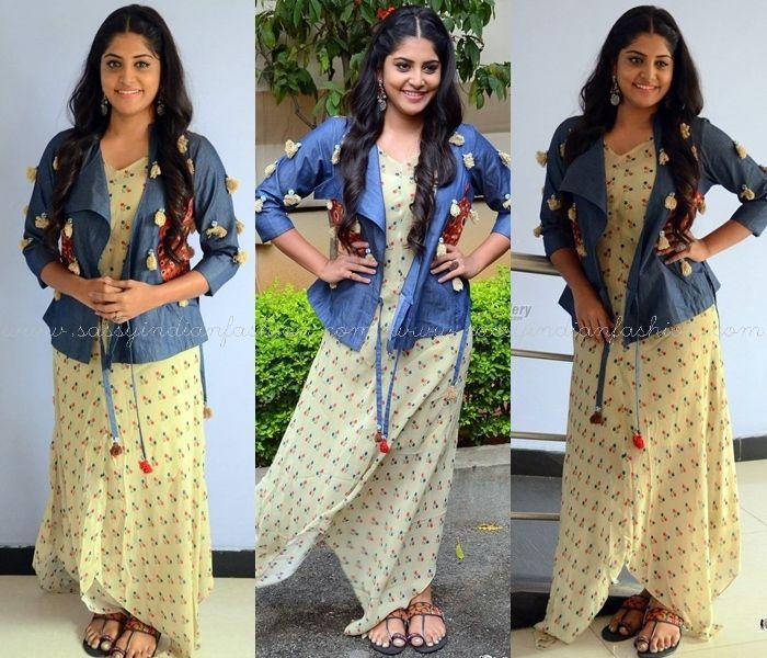 Manjima Mohan Outfits