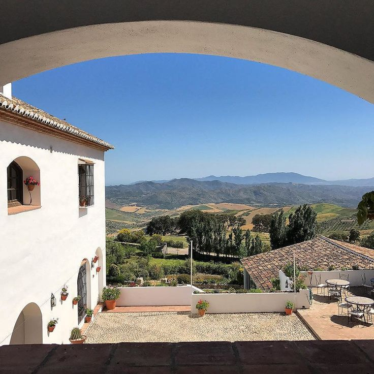 The incredible views from one of our favourite new finds Hotel La Fuente del Sol #tomaandcoe #experiencethespainyouneverknew #caminomozarabe