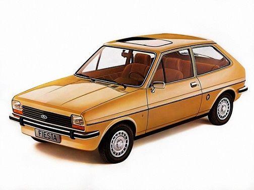 Ford Fiesta Ghia (1976 – 1983).