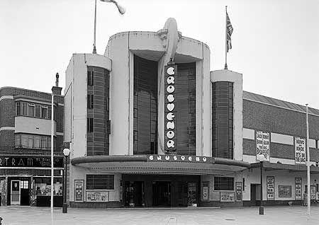 Grosvenor Cinema. Frank Ernest Bromige. 1936  Deco in Rayners Lane