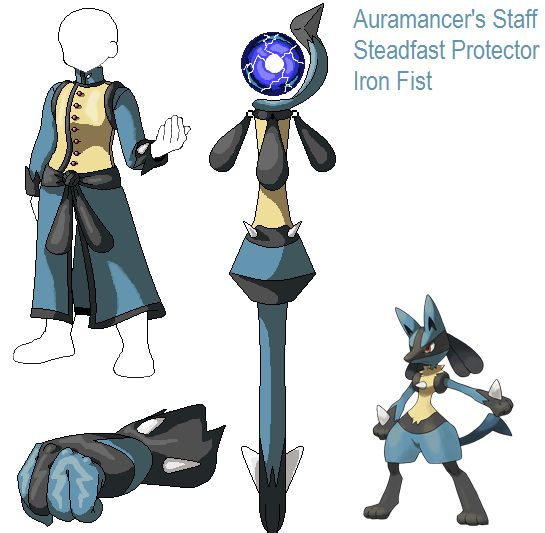 PSC Request- Lucario by Lybra1022 on DeviantArt
